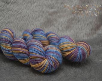 Lord Byron on Terra 10ply - Hand dyed Worsted 100% Superwash Merino
