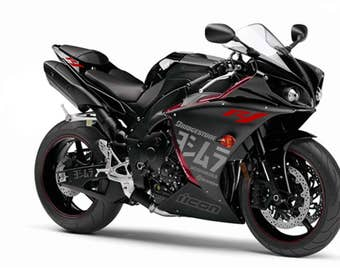 Yamaha r1 decals stickers 2013