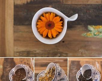 Triple pack sample size Rooibos & Honeybush+Cleanse+Jasmine Green tea - 150 grams