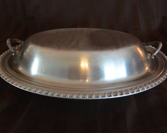 Silver Serving Dish
