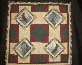 Eagles Quilted Wall Hanging