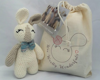 Crochet Kit - Reggie Bunny Rabbit Luxury Kit