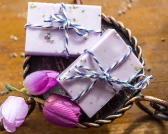 French Lavender Soap, scented soap bar, essential oils, wedding gifts, holidays