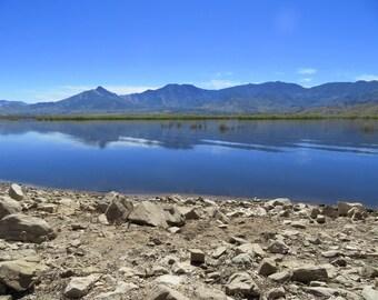 Lake Isabella Mountain Reflection