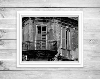 Architectural Photography Print - New Orleans - DIGITAL DOWNLOAD