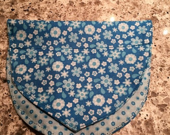 Blue Flower scarves