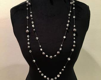 BCBG Waterfall Necklace
