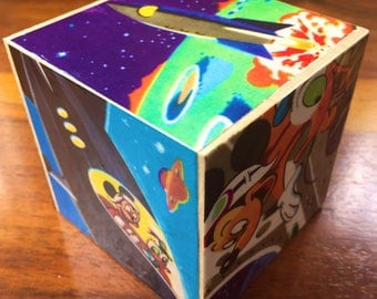 Mickey & Donald in space, story block 70mm