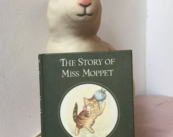 Vintage Beatrix Potter 'The Tale of Miss Moppet' 1989 Edition