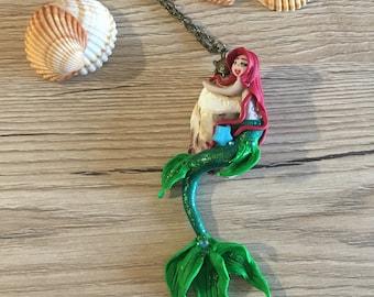 Little Mermaid ariel disney mermaid ariel, disney, shell necklace on ariel Little Mermaid