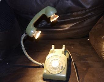 Rotary Phone Lamp