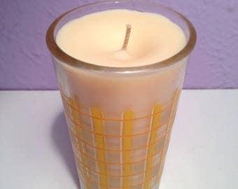 Lemon Vanilla Scented Candle