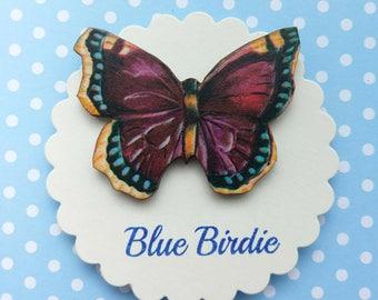 SALE! Butterfly brooch butterfly jewelry purple butterfly brooch butterfly jewellery butterfly gift purple butterfly jewelry
