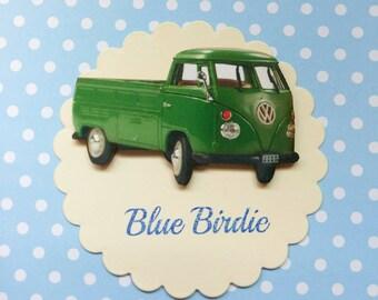 SALE! Campervan brooch camper van jewelry camper van jewelley camper van badge accessories VW campervan gift vintage look campervan brooch