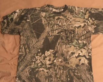 Vintage XL Mossy Oak Realtree Tshirt