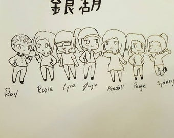 Custom chibi drawing