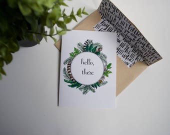 A card to say Hello!