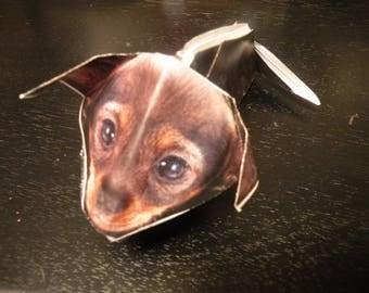 Origami chihuahua puppy