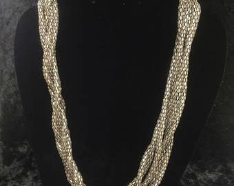 Thick Twisted Necklace