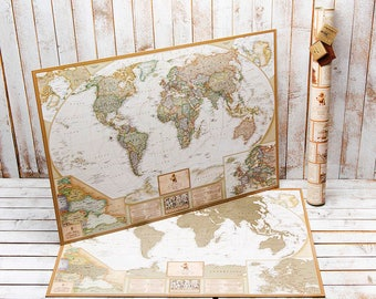 il_340x270.1198568714_l3yr Pinnable World Map on professional map, cork board map, metal map, cloth map, world map,
