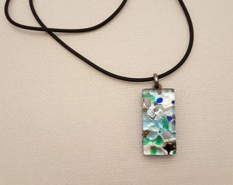 murano pendant necklace