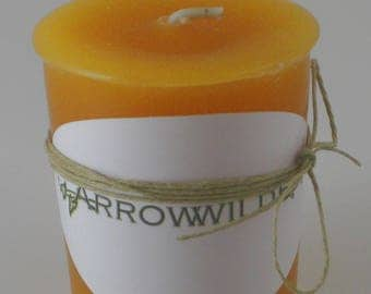 Smooth Amber Scented Votive Candle