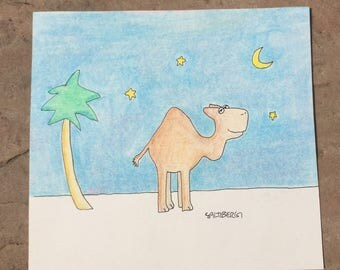 Camel at Night