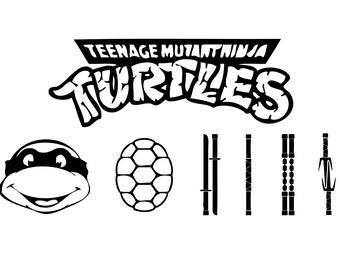 Ninja Turtles SVG bundle