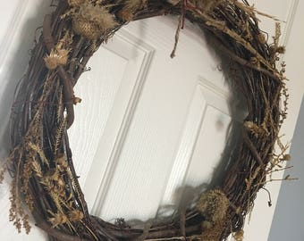 Wreath of Roughage - Art by Becca