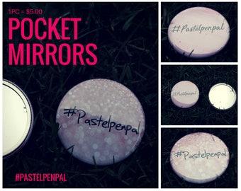 Pastelpenpal Pocket Mirrors