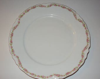 Made in Bavaria china luncheon or salad plate.