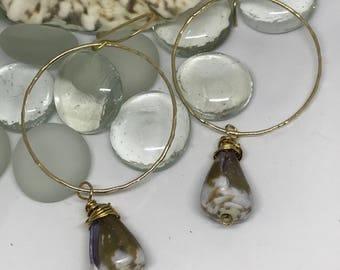 Cone Shell Earrings