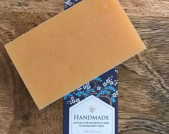Handmade Lemongrass Soap, Organic Ingredients