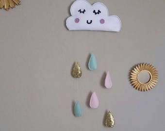 Magical Cloud Wall Banner/ Mobile