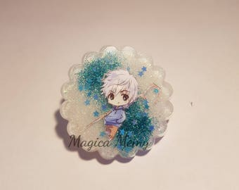 Necklace/Keychain resin sticker Created by Jack Frost (5 legends)