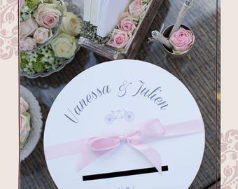 Gift, urn to customize wedding box