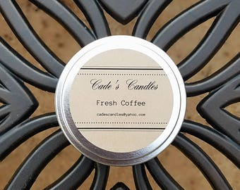 FRESH COFFEE - Scented Candle