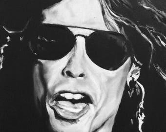 Steven Tyler - pastel portrait