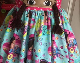 Doc McStuffins theme twirl dress
