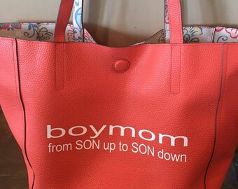 Reversible bag, perfect for game day!