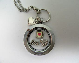 Coffee Lover's Living Locket