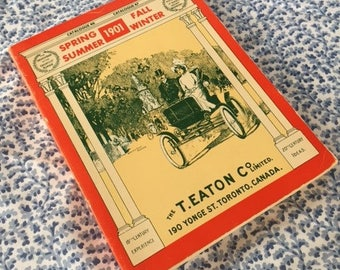 Vintage Replica Catalogue - 1901 T. Eaton Co. Limited