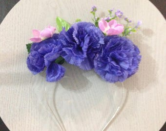 Twilight Sparkle My Little Pony Inspired Flower Crown