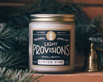 Winter Pine Candle - 9 oz