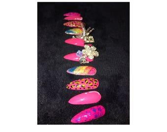 Bubble Pop Nails