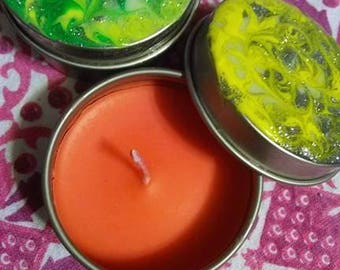 Trippy Hippy Scented Candles