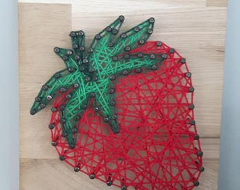 String Art Fruit