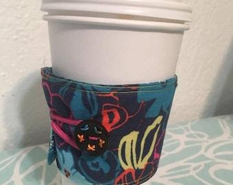 Assorted Reversible Coffee Cozy