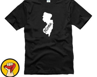 New Jersey Home State Tee Shirt T-Shirt More Colors XS - 2XL