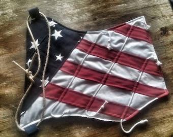CLEARANCE-American flag-dementia-Alzheimer's fidget mat-old glory fidget mat-american flag fidget mat-mens fidget mat-dementia gift